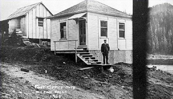 ocean falls post office 1908