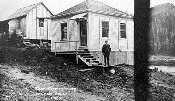 ocean falls post office 1908