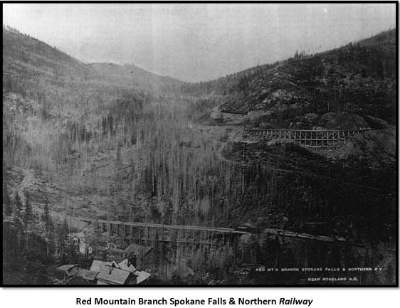 Red Mountain Branch Spokane Falls & Northern Railway