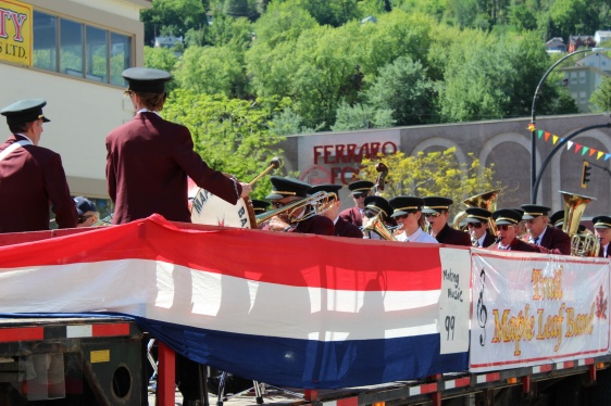 Silver City Days 2016 Parade, Trail B.C.  May 7, 2016