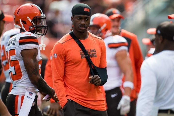 Robert Griffin III's injury troubles sum up the luck of the Browns in the NFL